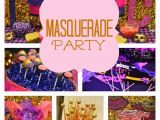 Masquerade Birthday Party Decorations Masquerade Birthday Party