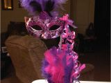 Masquerade Birthday Party Decorations Masquerade Centerpieces Tall Mask Centerpiece Sweet