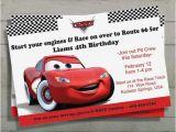 Mcqueen Birthday Invitation Cards 26 Best Mcqueen B Day Invitation Ideas Images On Pinterest