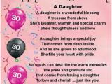 Meaningful 30th Birthday Gifts for Him 30th Birthday Quotes for Daughter Quotesgram