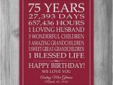 Meaningful 60th Birthday Gifts for Husband 55 Best 75th Birthday Party Ideas Images On Pinterest