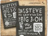 Mens 30th Birthday Decorations 30th Birthday Party Invitations for Men Best Party Ideas