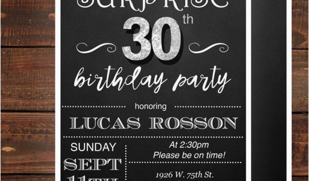 Download By SizeHandphone Tablet Desktop Original Size Back To Mens 30th Birthday Invitations
