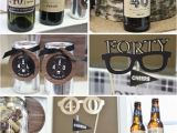 Mens 40th Birthday Party Decorations Birthday Party Ideas for Men Cheers to 40 Years Milestone