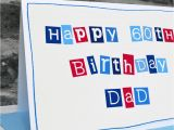 Mens Birthday Gifts Not On the High Street Personalised Mens 60th Birthday Card by Jenny Arnott Cards