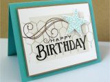 Mens Happy Birthday Cards Stamping Sharing March 2012