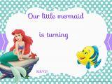 Mermaid Birthday Invitations Free Printable Free Printable Mermaid Birthday Invitation Wording
