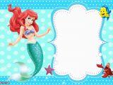 Mermaid Birthday Invitations Free Printable Updated Free Printable Ariel the Little Mermaid