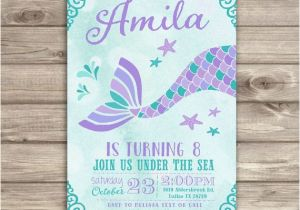Mermaid Themed Birthday Invitations Best 25 Little Silhouette Ideas On Pinterest