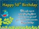 Message for 50th Birthday Card Happy 50th Birthday Images Best 50th Birthday Pictures