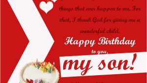 Message for son S Birthday Card Birthday Wishes for son 365greetings Com