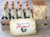 Message In A Bottle Birthday Invitations Birthday Party Diy