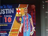 Messi Birthday Invitations 25 Best Ideas About Messi Birthday On Pinterest