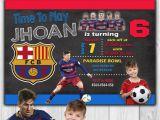 Messi Birthday Invitations Best 25 Messi Birthday Ideas On Pinterest Barcelona