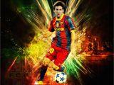 Messi Birthday Invitations Personalised Lionel Messi Birthday Card