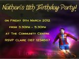 Messi Birthday Invitations Personalised Lionel Messi Invitations