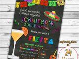Mexican themed Birthday Invitations Fiesta Birthday Invitation Mexican Invitation Mexican