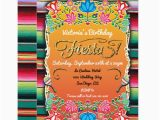 Mexican themed Birthday Invitations Mexican Fiesta Party Gold Glitter Card Zazzle Com