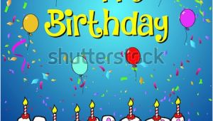 Michaels Happy Birthday Cake Banner Happy Birthday Paul Stock Vector 617238185 Shutterstock