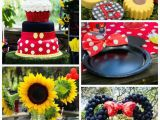 Mickey and Minnie Birthday Decorations Kara 39 S Party Ideas Mickey Minnie Mouse Sunshine soiree