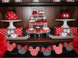 Mickey and Minnie Birthday Decorations Mickey Minnie Mouse Party Lillian Hope Designs