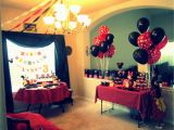 Mickey and Minnie Birthday Decorations Mickey Minnie Party Decorations Projects I 39 Ve Done