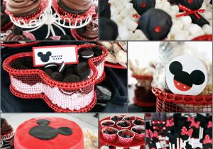 Mickey and Minnie Birthday Party Decorations Bubbi and Boo Mickey and Minnie Party