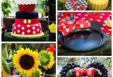 Mickey and Minnie Birthday Party Decorations Kara 39 S Party Ideas Mickey Minnie Mouse Sunshine soiree