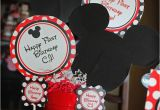 Mickey and Minnie Birthday Party Decorations Kara 39 S Party Ideas Mickey Minnie Mouse themed First
