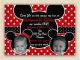 Mickey and Minnie Joint Birthday Party Invitations Twin Birthday Twin Birthday Parties and Minnie Mouse On