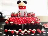 Mickey and Minnie Mouse Birthday Decorations Mickey Minnie Mouse Cupcakes Two Sisters