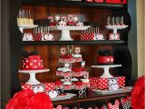Mickey and Minnie Mouse Birthday Decorations Mickey Minnie Mouse Party Lillian Hope Designs