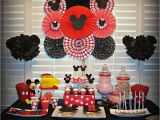 Mickey and Minnie Mouse Birthday Decorations Mickey Mouse Minnie Mouse Birthday Quot Mickey Minnie
