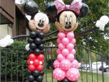 Mickey and Minnie Mouse Birthday Decorations Minnie and Mickey Mouse Balloon Character Party Decorations