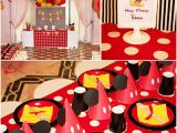 Mickey and Minnie Mouse Birthday Decorations Omss Bird May 23 2011