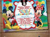 Mickey and Minnie Twin Birthday Invitations You Choose Mickey Minnie Twins Birthday Invitation Twins