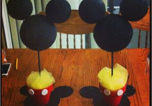 Mickey Mouse Birthday Decorations Cheap Mickey Mouse Birthday Party Centerpieces Easy Cheap