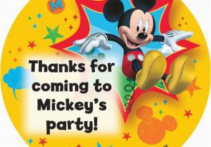 Mickey Mouse Birthday Decorations Cheap Mickey Mouse Personalized Stickers Sheet Of 12 Cheap