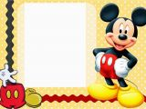Mickey Mouse Birthday Greeting Cards Free Printable Mickey Mouse Birthday Cards Luxury