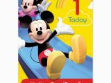 Mickey Mouse Birthday Greeting Cards Mickey Mouse Birthday Card Card Design Ideas