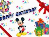 Mickey Mouse Birthday Greeting Cards Mickey Mouse Birthday Quotes Quotesgram