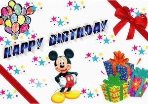 Mickey Mouse Birthday Greeting Cards Quotes Quotesgram