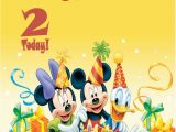 Mickey Mouse Birthday Greeting Cards Personalised Mickey Mouse Minnie Mouse Donald Duck