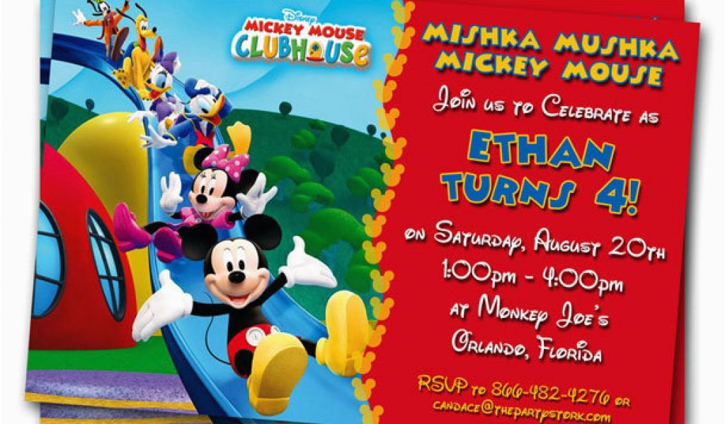 Download By SizeHandphone Tablet Desktop Original Size Back To Mickey Mouse Birthday Invitations Online