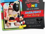 Mickey Mouse Birthday Invitations Walmart Mickey Mouse Invitation Mickey Mouse Clubhouse Invite