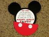 Mickey Mouse Birthday Invitations with Photo Mickey Mouse Invitations Love to Be In the Kitchen