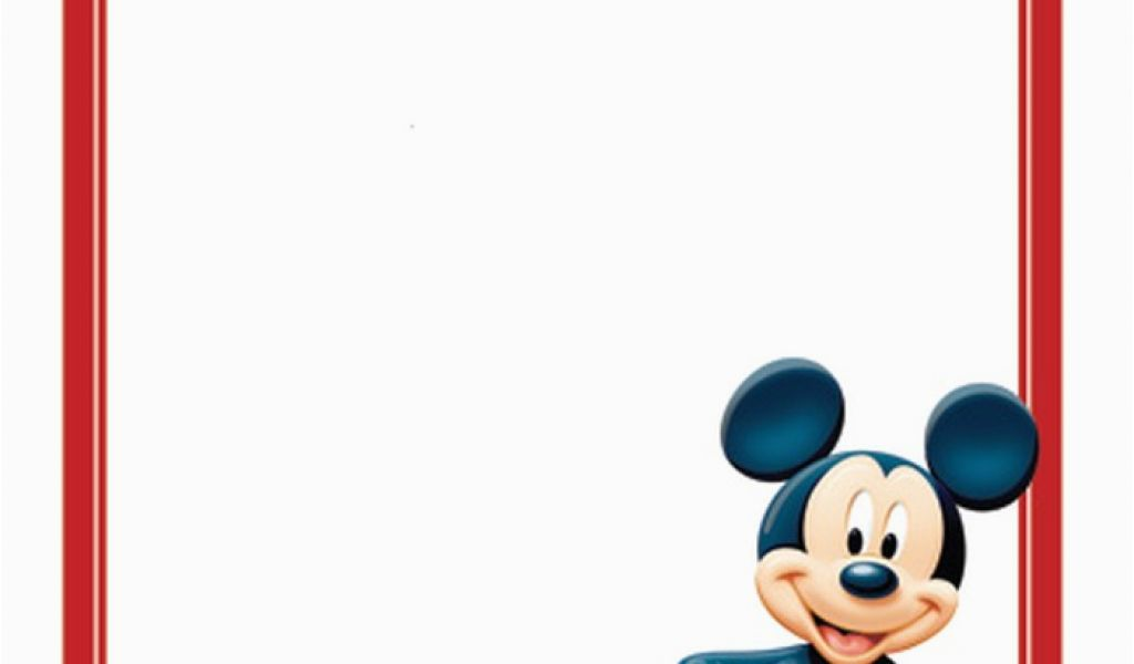 Download By SizeHandphone Tablet Desktop Original Size Back To Mickey Mouse Birthday Invites Free Printable