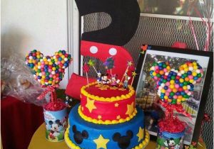 Mickey Mouse Clubhouse 1st Birthday Decorations Ideas Cimvitation