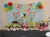 Mickey Mouse Clubhouse 1st Birthday Decorations Mickey Mouse Clubhouse Birthday Quot Twins 39 Mickey Mouse