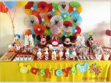 Mickey Mouse Clubhouse 1st Birthday Decorations Mickey Mouse Clubhouse Party Birthday Quot ashley 39 S 1st
